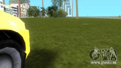 Seat Leon Cupra R pour GTA Vice City sur la vue arrière gauche