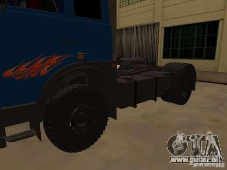 MAZ 5432 YAMZ-238 b 4 x 2 pour GTA San Andreas vue de droite