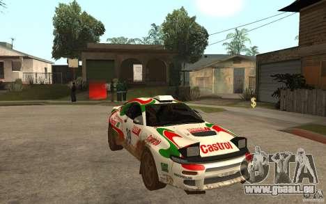 Toyota Celica GT-Four pour GTA San Andreas vue arrière