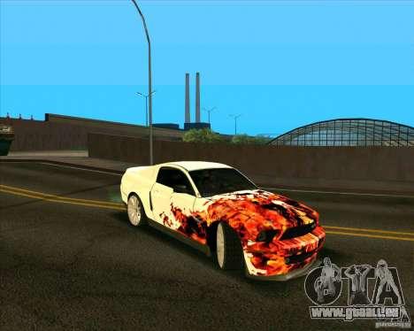 Shelby GT500 für GTA San Andreas linke Ansicht
