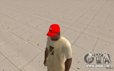 Newyorkyankiys Cap Rouge pour GTA San Andreas