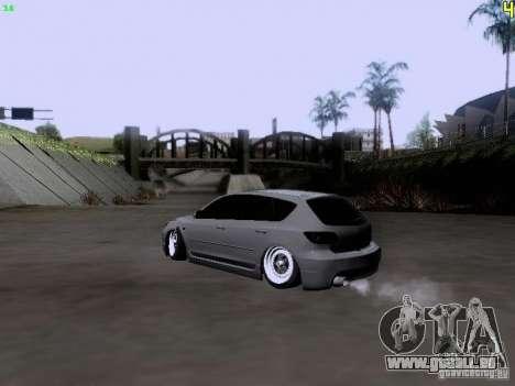 Mazda Speed 3 Stance für GTA San Andreas linke Ansicht