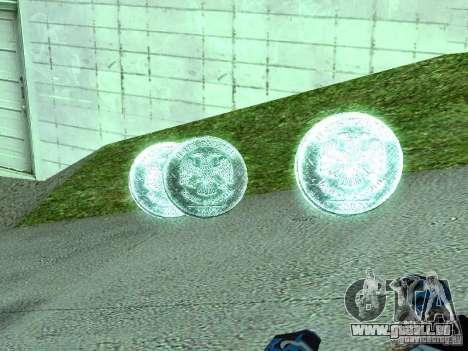 Rouble-5 pièces pour GTA San Andreas deuxième écran