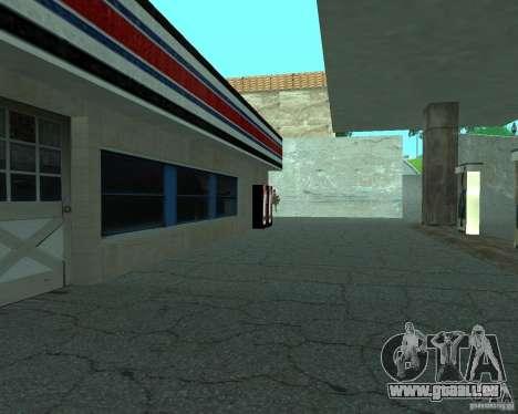 Neue Xoomer. neue Tankstelle. für GTA San Andreas fünften Screenshot