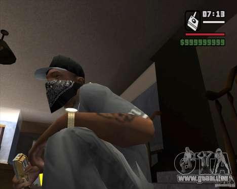 Détecteur de t. s. a. l. k. e. R # 1 pour GTA San Andreas deuxième écran
