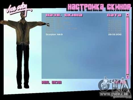 MK 9 Scorpion Costume für GTA Vice City zweiten Screenshot