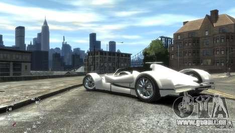 Ibis Formula GT pour GTA 4 Vue arrière de la gauche
