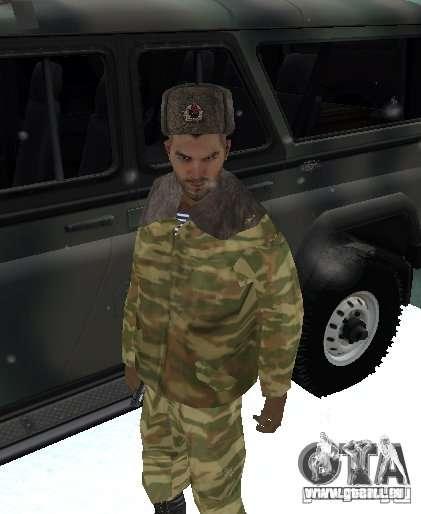 Dembele Covetskoj Armee für GTA San Andreas