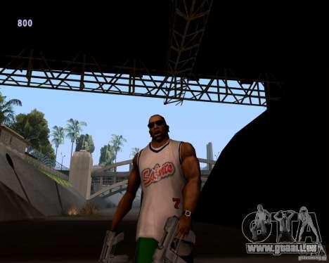 Allure de gangster pour GTA San Andreas deuxième écran