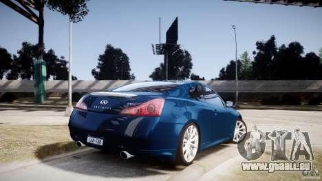 Infiniti G37 Coupe Sport pour GTA 4 est une gauche