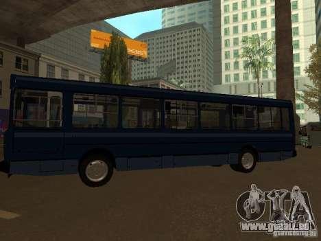 YAZ 5267 pour GTA San Andreas sur la vue arrière gauche