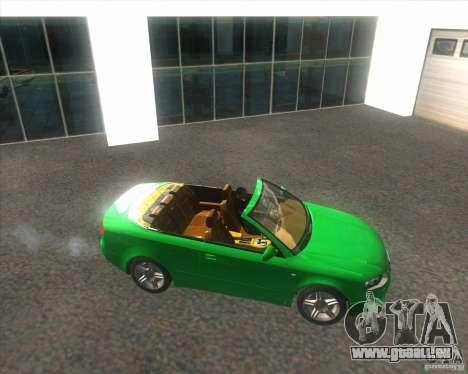 Audi A4 Convertible 2005 pour GTA San Andreas vue de droite