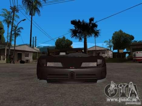 Buggati EB110 pour GTA San Andreas vue de droite