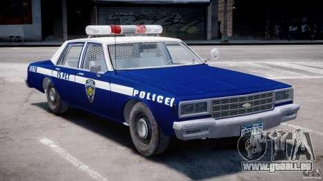 Chevrolet Impala Police 1983 [Final] für GTA 4 linke Ansicht