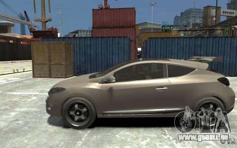 Renault Megane Coupe pour GTA 4 est une gauche