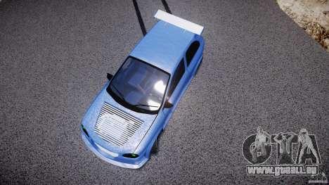 Chevrolet Corsa Extreme Revolution pour GTA 4 est une vue de dessous