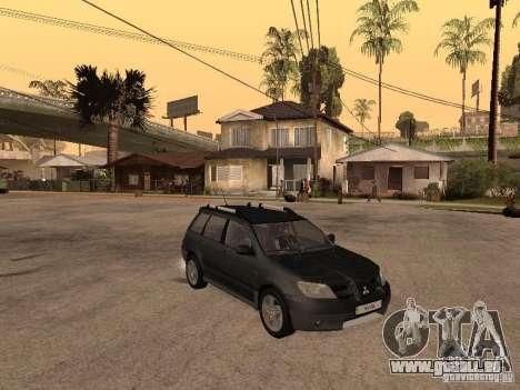 Mitsubishi Outlander 2003 für GTA San Andreas rechten Ansicht