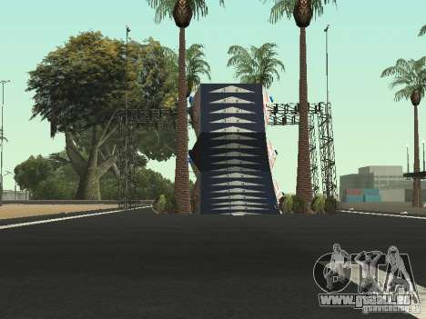 Drift track and stund map für GTA San Andreas her Screenshot
