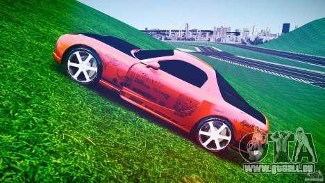 Mazda RX-7 ProStreet Style pour GTA 4 est une vue de l'intérieur