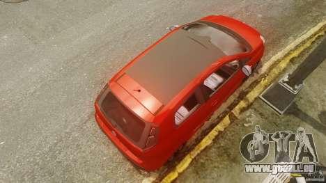 Fiat Punto Evo Sport 2010 für GTA 4 rechte Ansicht
