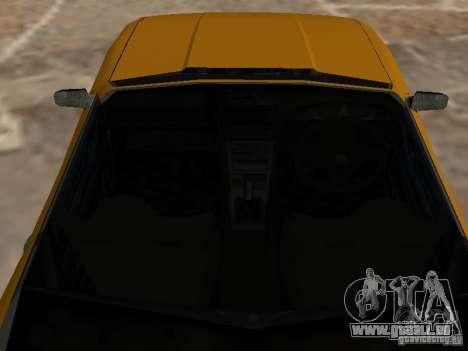 Elegie von Convertible Tops für GTA San Andreas Rückansicht