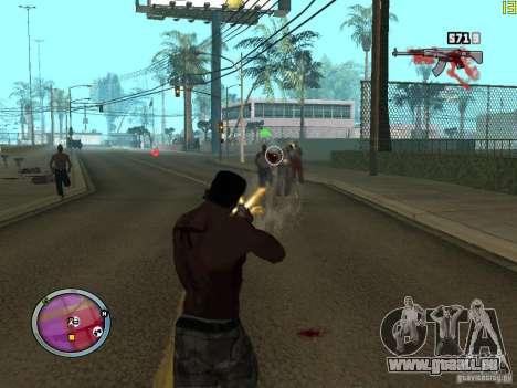 Neue GANGSTER-zone für GTA San Andreas