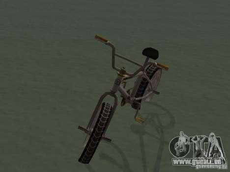 New Bmx pour GTA San Andreas vue de droite
