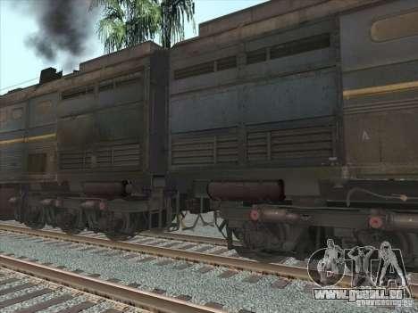 2te10v-4036 pour GTA San Andreas vue intérieure
