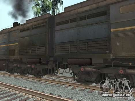 2te10v-4036 für GTA San Andreas Innenansicht