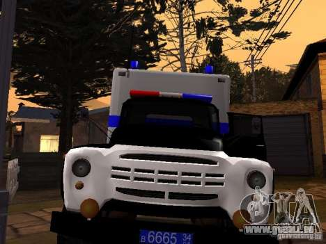 ZIL 130 Police pour GTA San Andreas