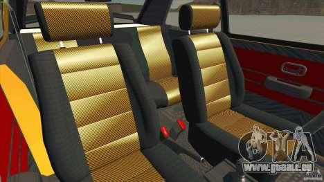 Opel Kadett D GTE Mattig Tuning für GTA San Andreas Innenansicht