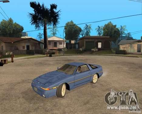 Toyota Supra MK3 pour GTA San Andreas vue arrière