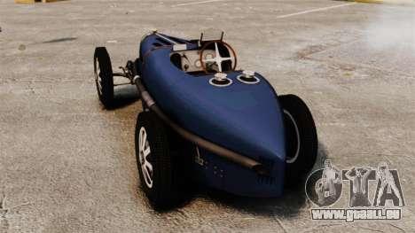Bugatti Type 51 pour GTA 4 Vue arrière de la gauche
