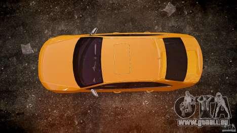 Audi S4 2010 für GTA 4 obere Ansicht