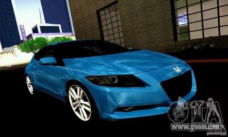 Honda CR-Z 2010 V2.0 für GTA San Andreas rechten Ansicht