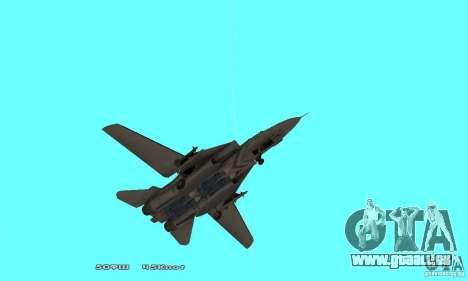 F14W Super Weirdest Tomcat Skin 1 für GTA San Andreas obere Ansicht