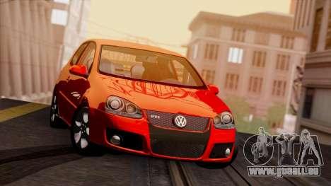 VW Golf V GTI 2006 pour GTA San Andreas laissé vue