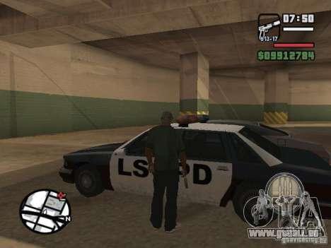 Crochetage pour machines comme dans Mafia 2 pour GTA San Andreas troisième écran
