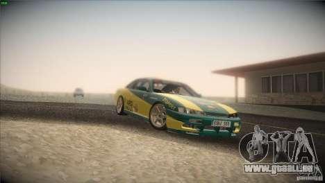 Nissan S14 für GTA San Andreas obere Ansicht