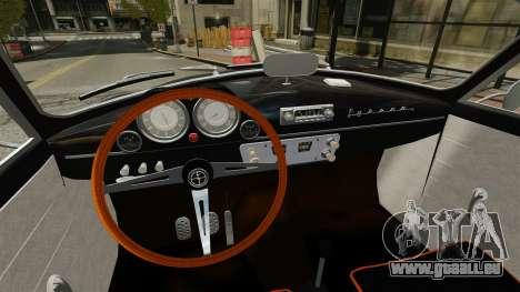 Syrena Coupe V8 pour GTA 4 Vue arrière