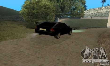 Van LADA priora pour GTA San Andreas vue intérieure