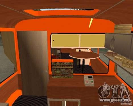 LIAZ-677 (moment de Café) pour GTA San Andreas vue arrière