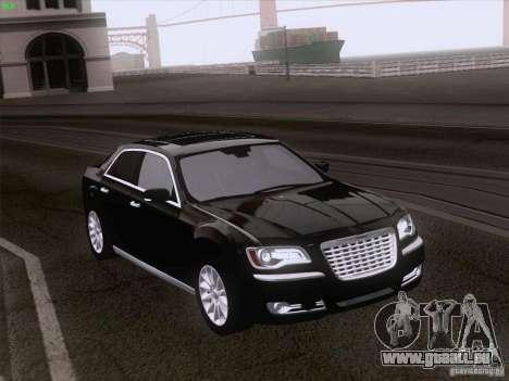 Chrysler 300 Limited 2013 pour GTA San Andreas vue de droite