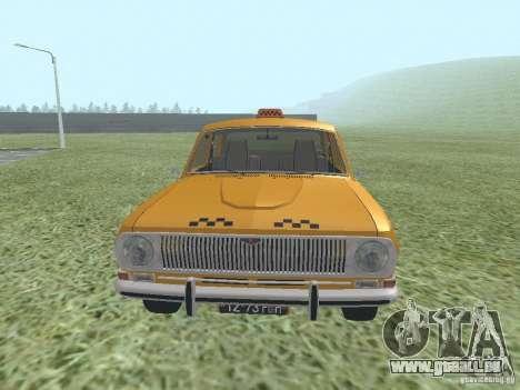 GAZ 24-01-Taxi für GTA San Andreas rechten Ansicht