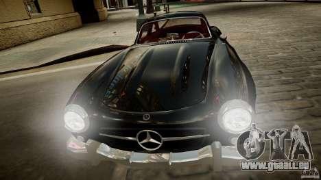 Mercedes-Benz 300 SL Gullwing für GTA 4 Rückansicht
