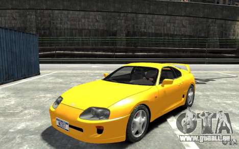 Toyota Supra MKIV 1995 pour GTA 4