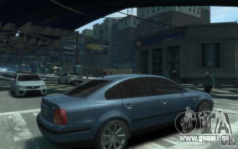 Volkswagen Passat B5 Final pour GTA 4 est un droit