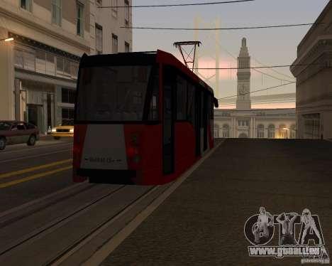 LM-2008 pour GTA San Andreas vue de dessous