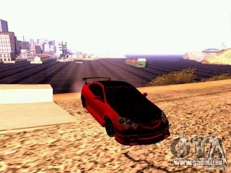 Acura RSX Drift pour GTA San Andreas vue de droite