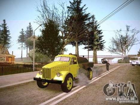 GAZ 51 Assinizator pour GTA San Andreas vue de droite